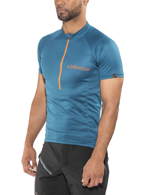 Alpinestars Elite SS Jersey Men blue bright orange